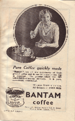 Bantam coffee